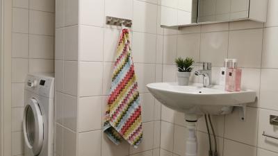 Bild från badrum